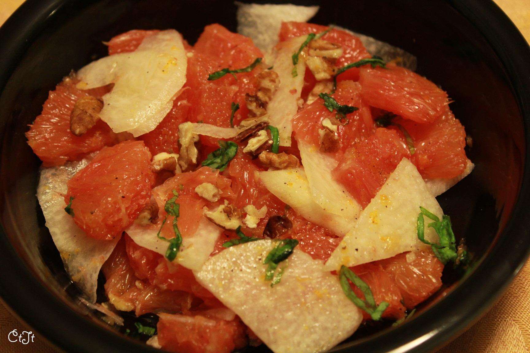 Cara Cara and Jicama salad