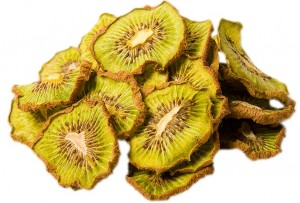 Dried Kiwi_white background