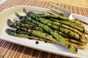 Grilled Asparagus Drizzled with a Sweet Balsamic