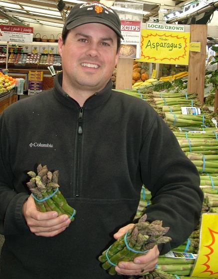 Robbie with asparagus_no price