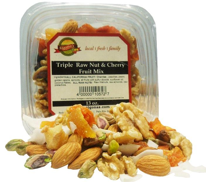 Triple Raw Nut& Cherry Fruit Mix_white
