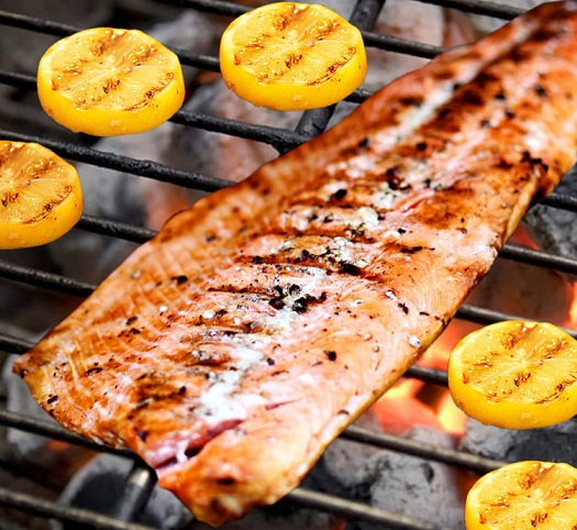 Salmon on the grill_MA