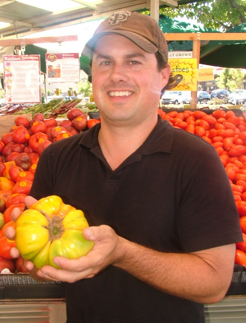 Robbie with heirlooms