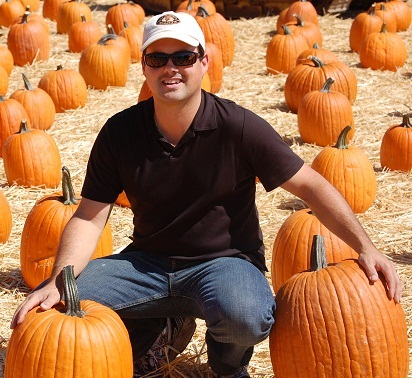 Robbie with Pumpkins1