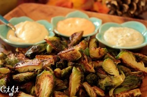 Local Roasted Brussels Sprouts with an Aioli Trio IMG_1181_c_sm