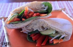 Fresh Veggie & Hummus Stuffed Pita Pockets IMG_2105_e_sm