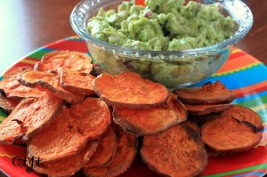 Sweet Potato Chips with Sigona's Guacamole IMG_2284_E_sm