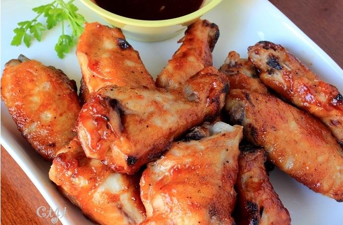 Honey BBQ Chicken Wings IMG_3299_E_sm