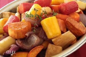 Roasted Organic Rainbow Carrots & Winter Vegetable Medley IMG_2347_E_sm