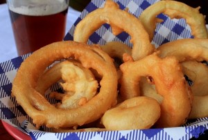 Tempura-Battered Sweet Onion Rings