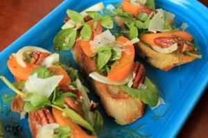 Apricot & Watercress & Fennel Mini Tartines IMG_6863_E_sm