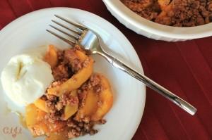 Peach & Amaretti Cookie Crisp IMG_6898_E_sm