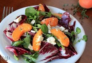Radicchio, Watercress & Apricot Salad IMG_6797_E_sm