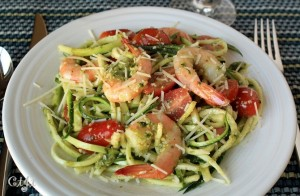 Raw Zucchini Noodles with Pesto and Shrimp IMG_6744_E_sm