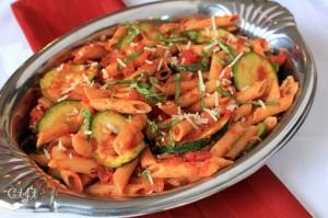 Zucchini and Penne with Sigona's Marinara