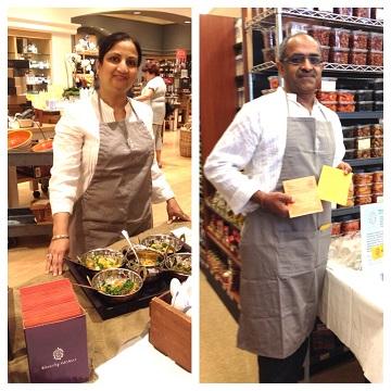 Pictured: Owners of Waverly Kitchens, Rashmi Bhargava, (left) and Raj Bhargava (right)