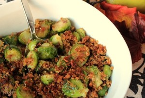 Brussels Sprouts with Bacon Shallots and Toasted Breadcrumbs IMG_9023_E_sm