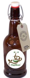 HapiBean amber bottle