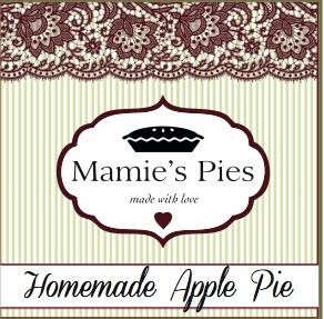 Mamie's pies Logo