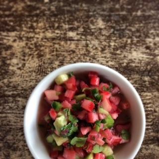 Rhubarb salsa_Luisa