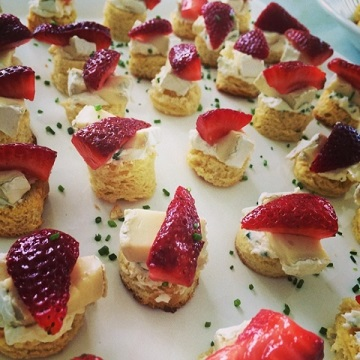 Luisa's strawberry with brie_360px