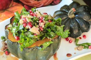 Stuffed Pumpkin Pie Spiced Acorn Squash with Quinoa Kale and Pomegranate 0373 E (1 of 1) (00000002)_360