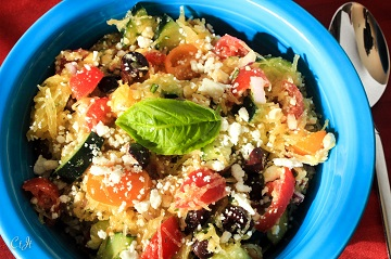 Mediterranean Style Pastaless Salad with Spaghetti Squash Grape Tomatoes and Feta 0546E (1 of 1)_360