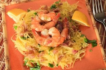 Spaghetti Squash with Garlic Shrimp and Cilantro 0542E (1 of 1)_360