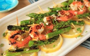 Lemony Asparagus and Shrimp Skewers IMG_9511_E_sm360