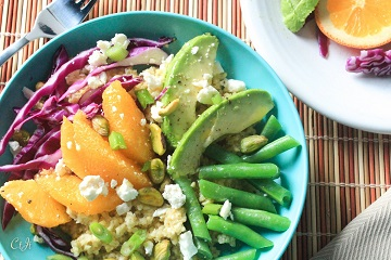 millet-bowl-with-navel-oranges-avocado-red-cabbage-pistachios-and-feta_360