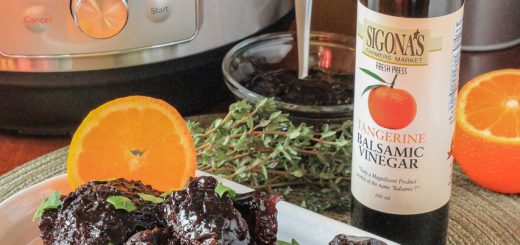 Tangerine Balsamic Braised Beef Short Ribs