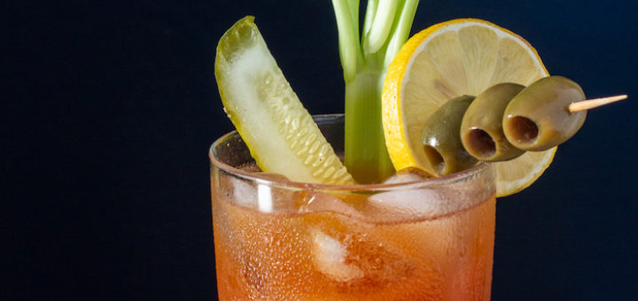 Bloody Mary with Neapolitan Herb Balsamic
