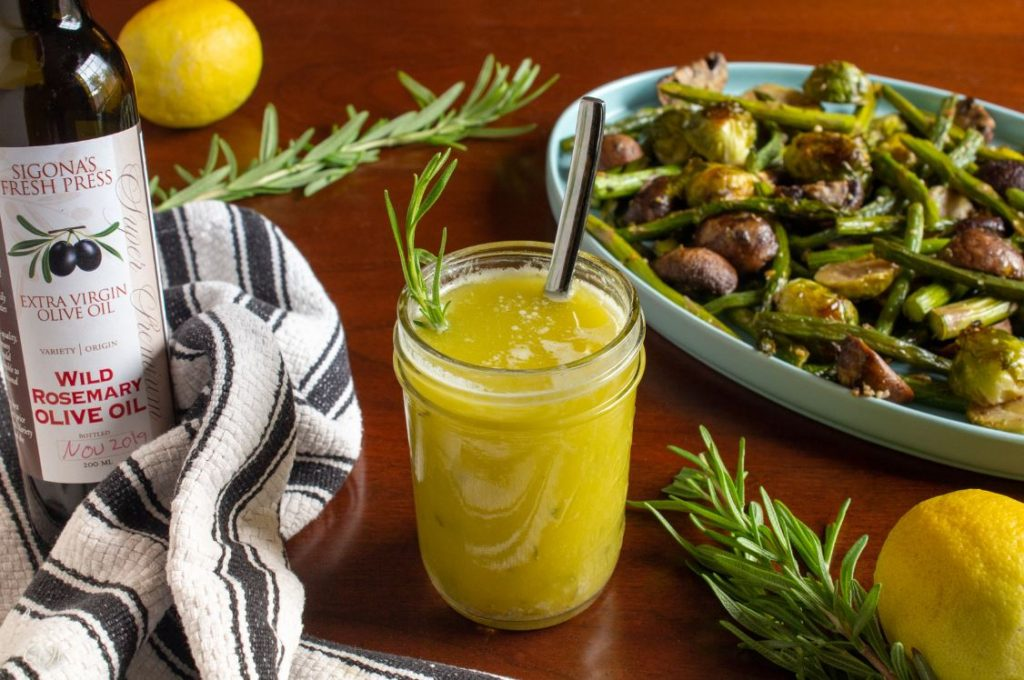 Wild Rosemary & Lemon Dressing