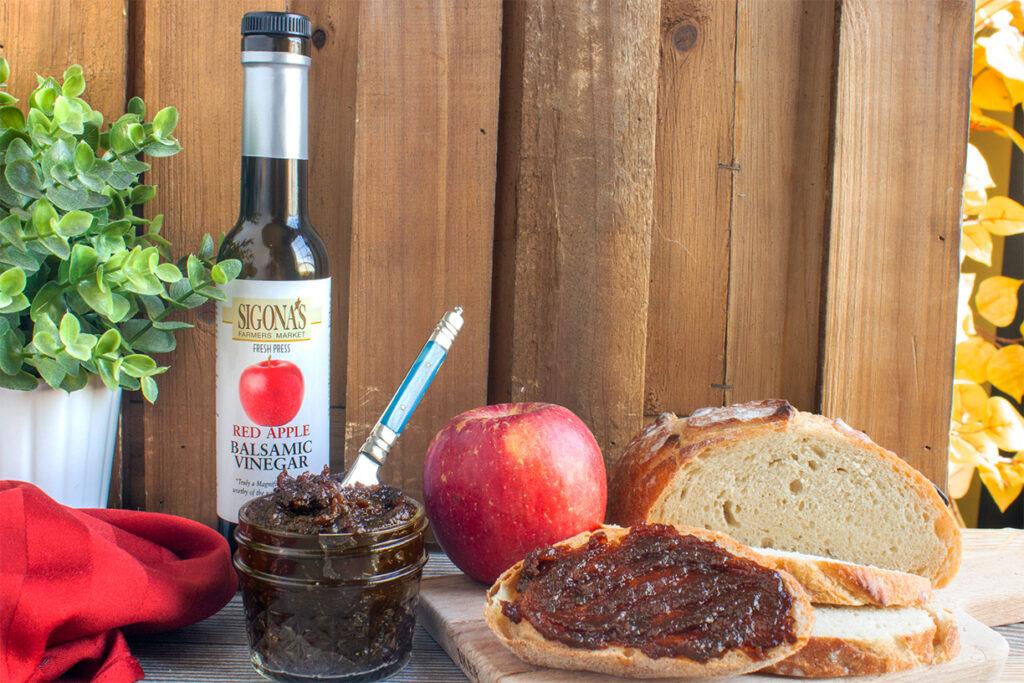 DIY Balsamic Apple Butter
