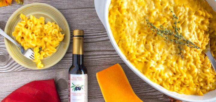 Truffled Butternut Macaroni & Cheese