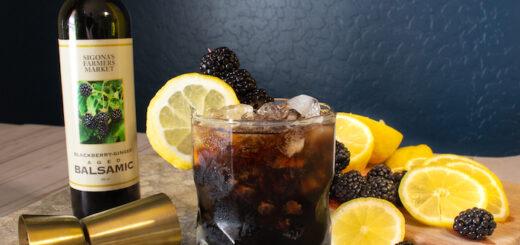 Blackberry Ginger Bramble Cocktail
