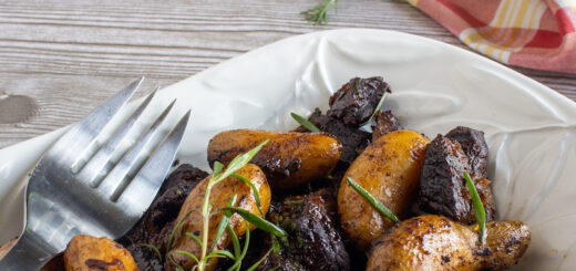 Braised Lamb with Fingerling Potatoes