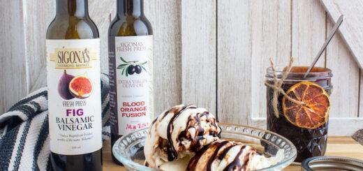 Fig & Blood Orange Fudge Sauce