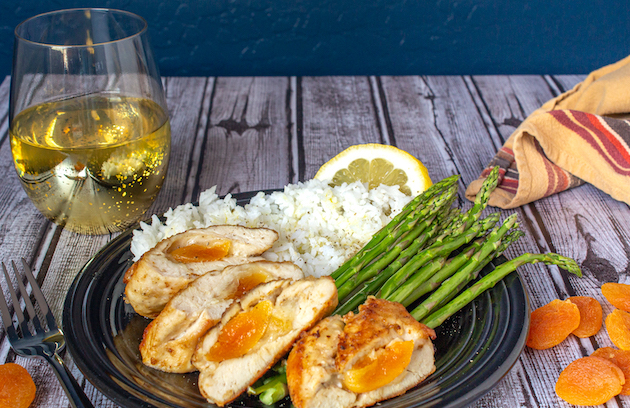 Apricot-and-Cheese Stuffed Chicken