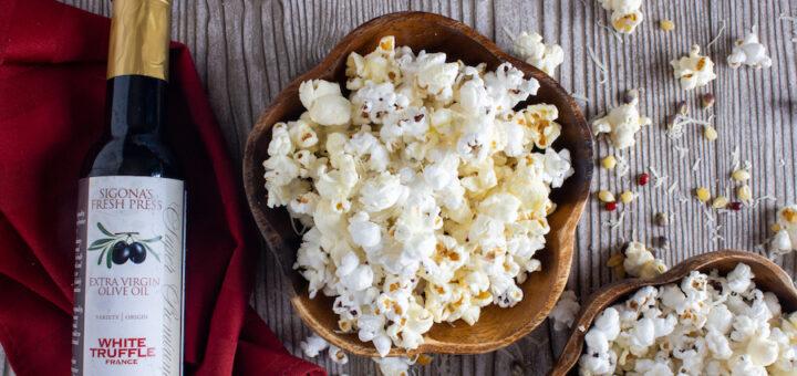 Truffle Popcorn with Parmigiano Reggiano