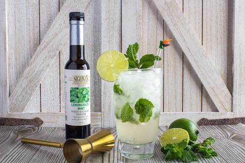 Sigona's Lemongrass Mint Balsamic Mojito